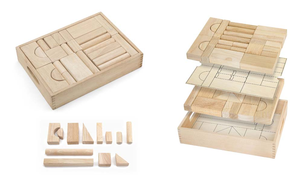 Unit Block Set - 46 pcs
