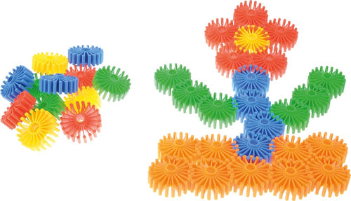 Construction Set - Daisies - 80 pieces