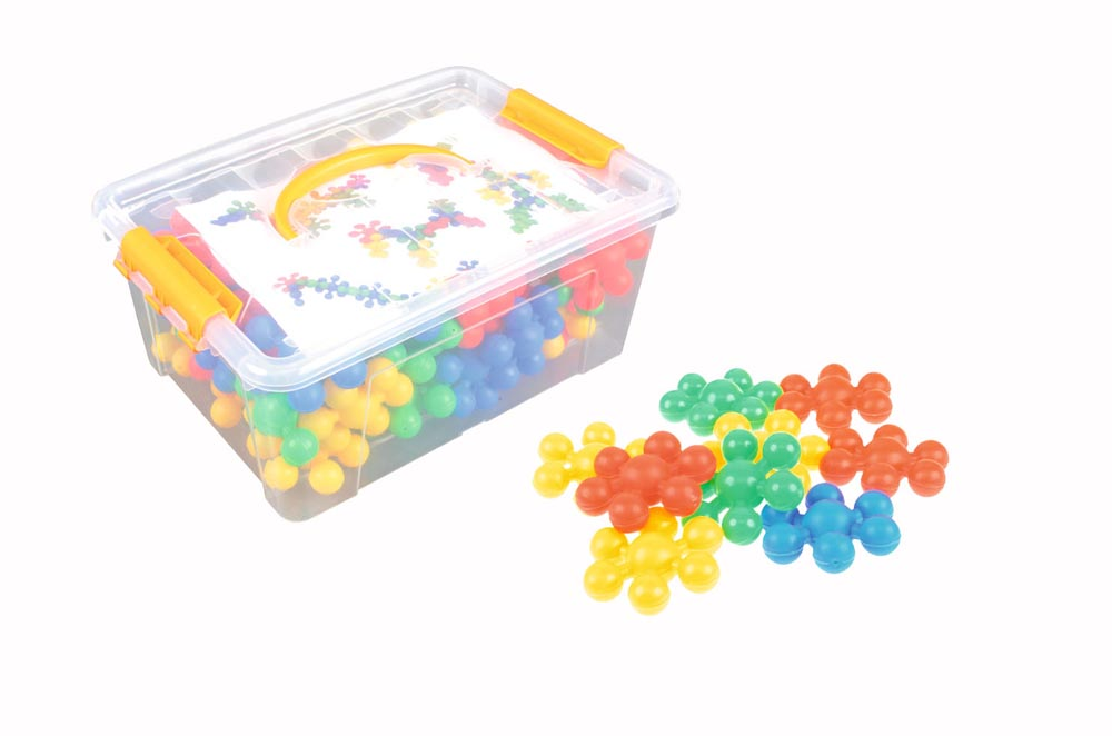 Construction Set - Atoms - 58 pieces