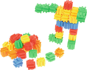 Construction blocks set - 3D Cubes - 72 pieces