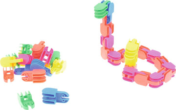 Construction Set - Click Clack - 120 pieces