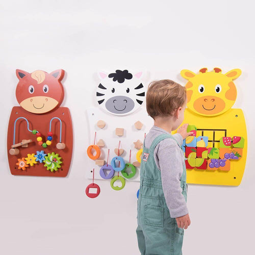 Animal Activity Wall Set pk3