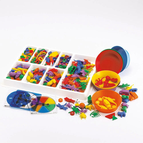 Super Coloured Sorting Set 620pk
