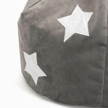 Glow in the Dark Beanbag Black