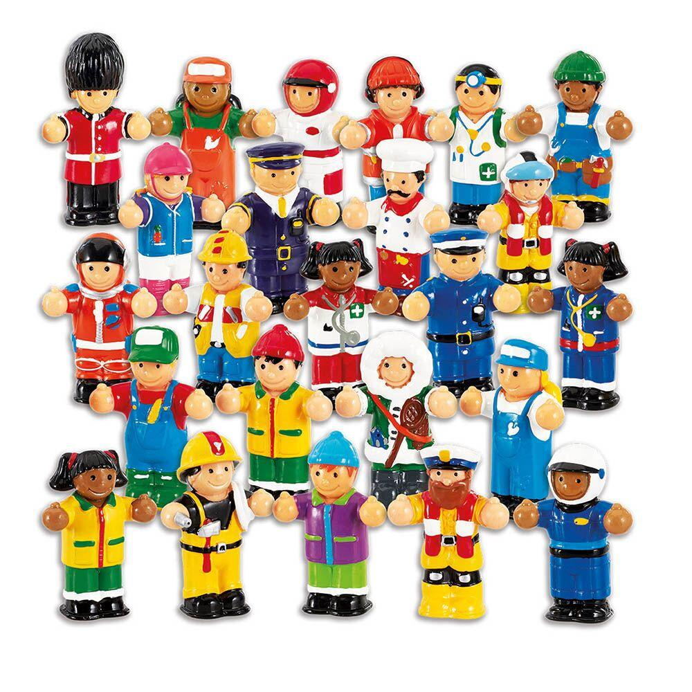 WOW Occupation Figure Set 22pk