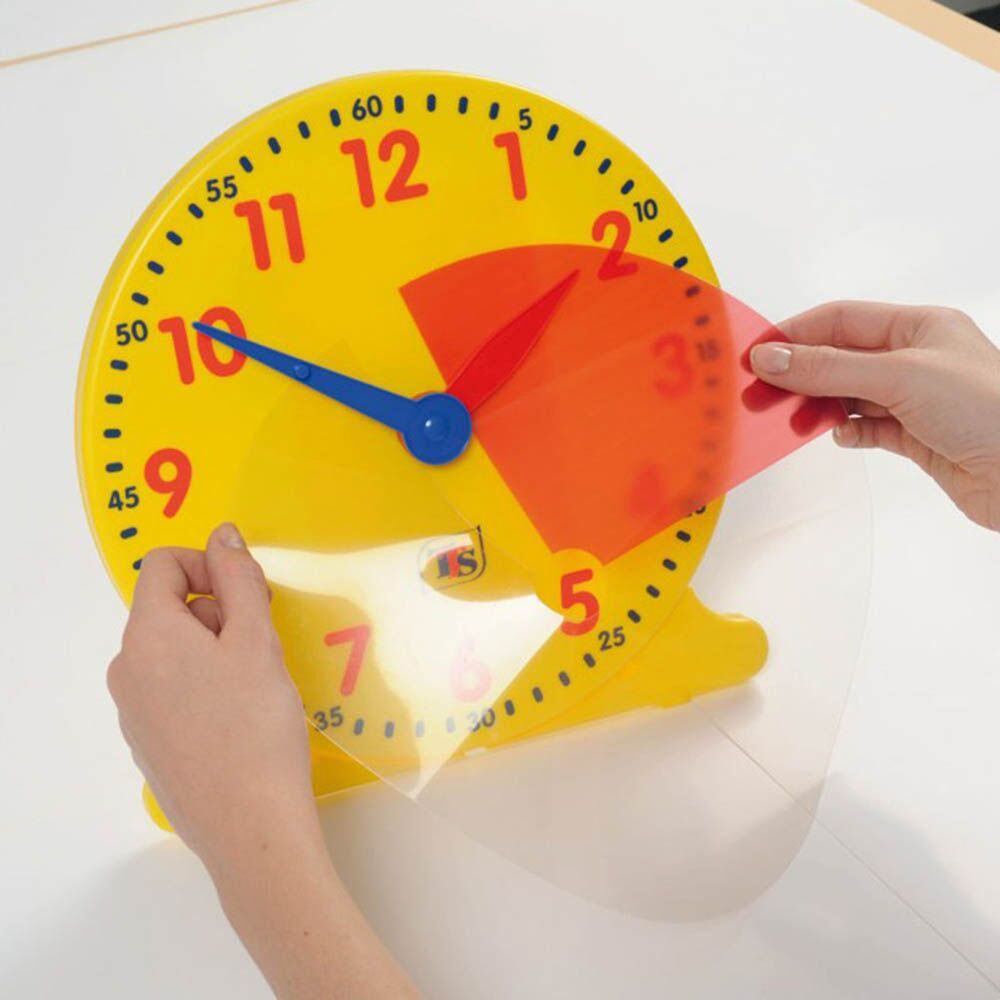 TTS Colourful Classroom Clock 1pk