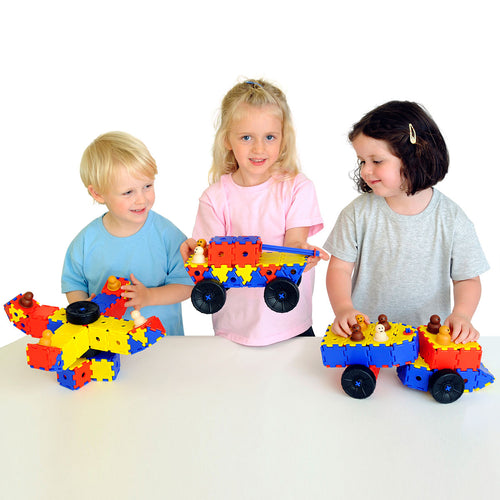 Durable Junior Polydron Class Set 372pk