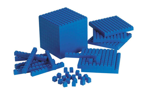 Interlocking Plastic Base Ten - Starter Set