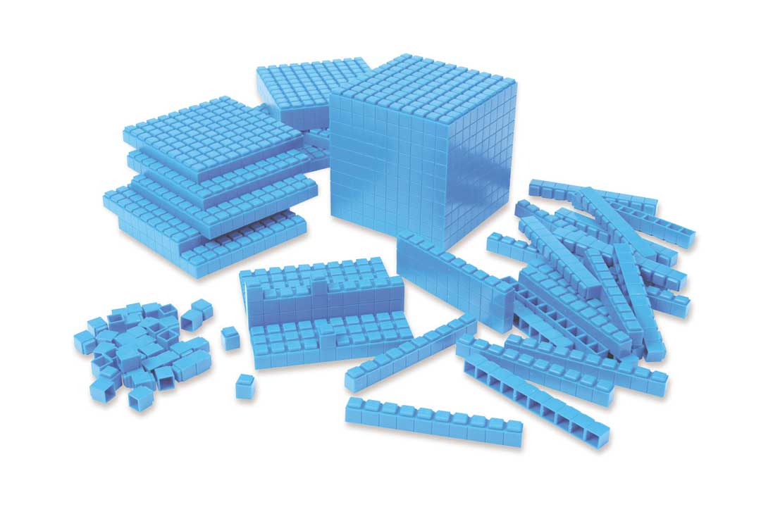 Interlocking Plastic Base Ten - Class Set