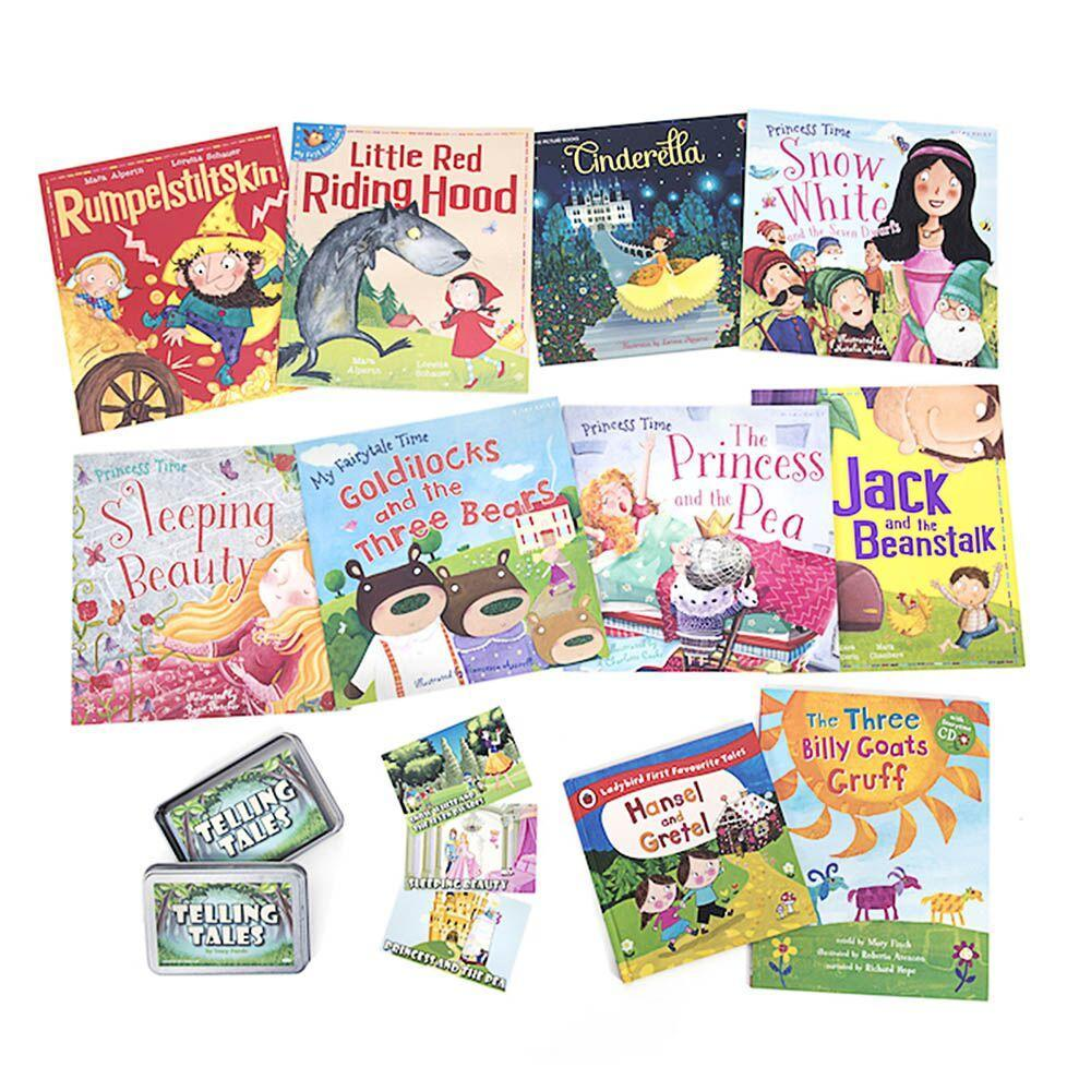 Telling Tales Book Packs and Activity Cards Kit