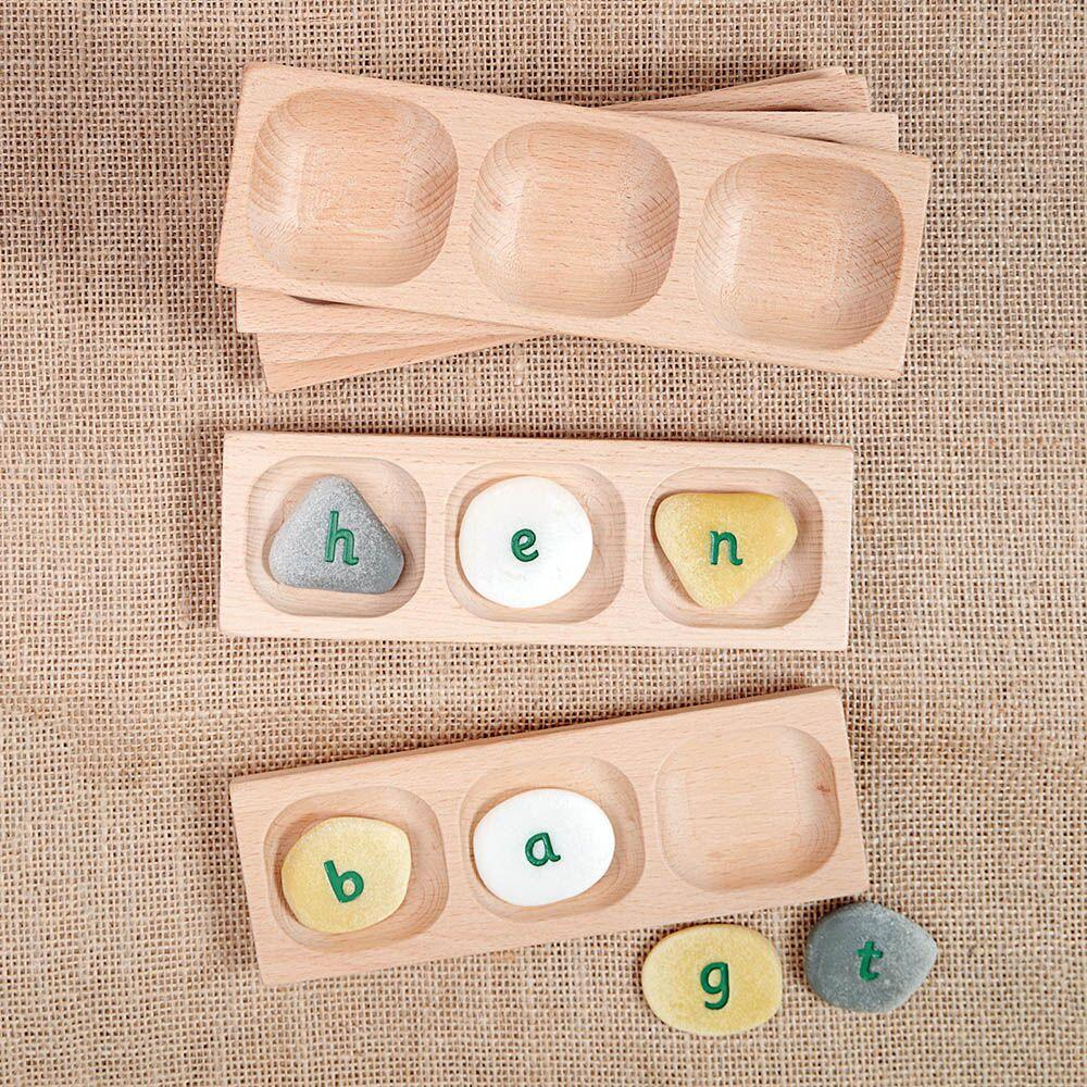 Word Building Trays 4section 6pk