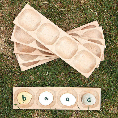 Word Building Trays 4 section