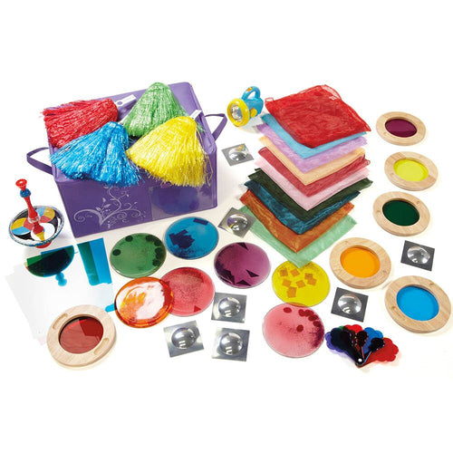 Light and Colour Grab and Go Kit 55pcs