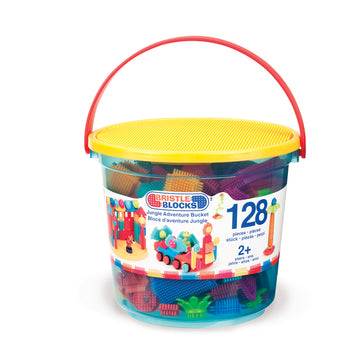 128Pc Jungle Adventure Bucket