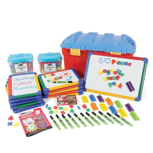 Magnetic letters and boards class bumper pack