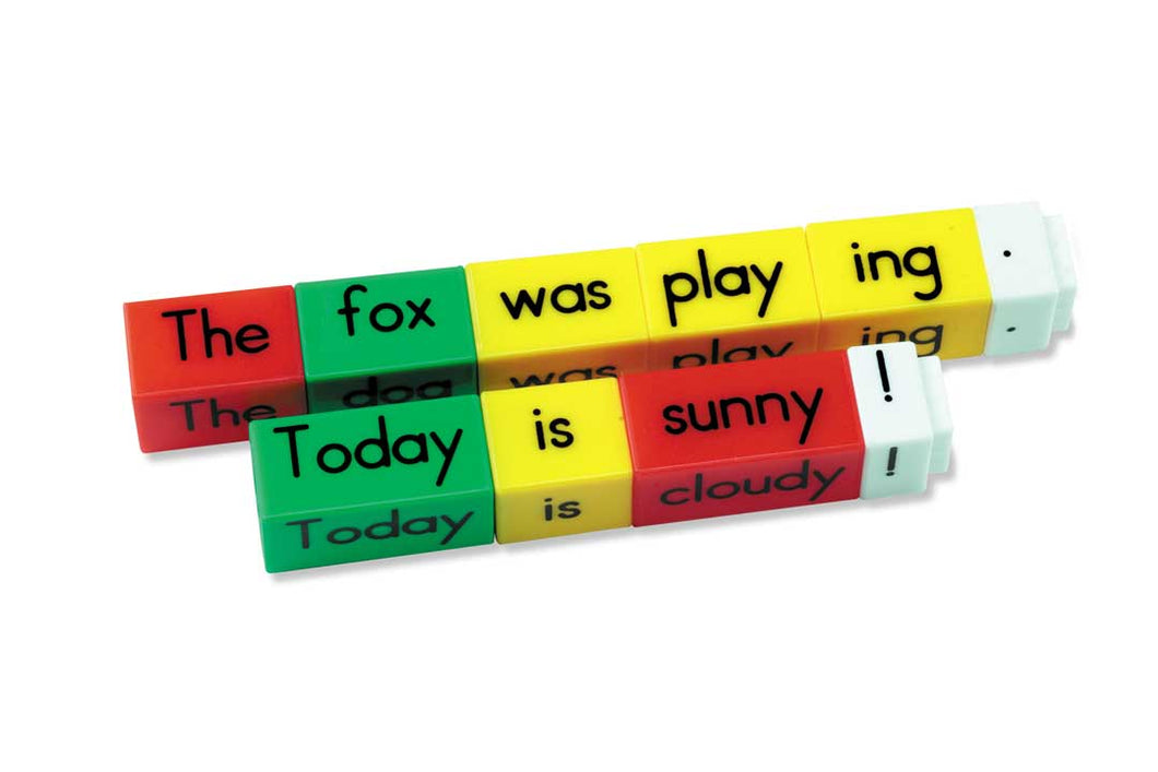 Reading Rods - Simple Sentences