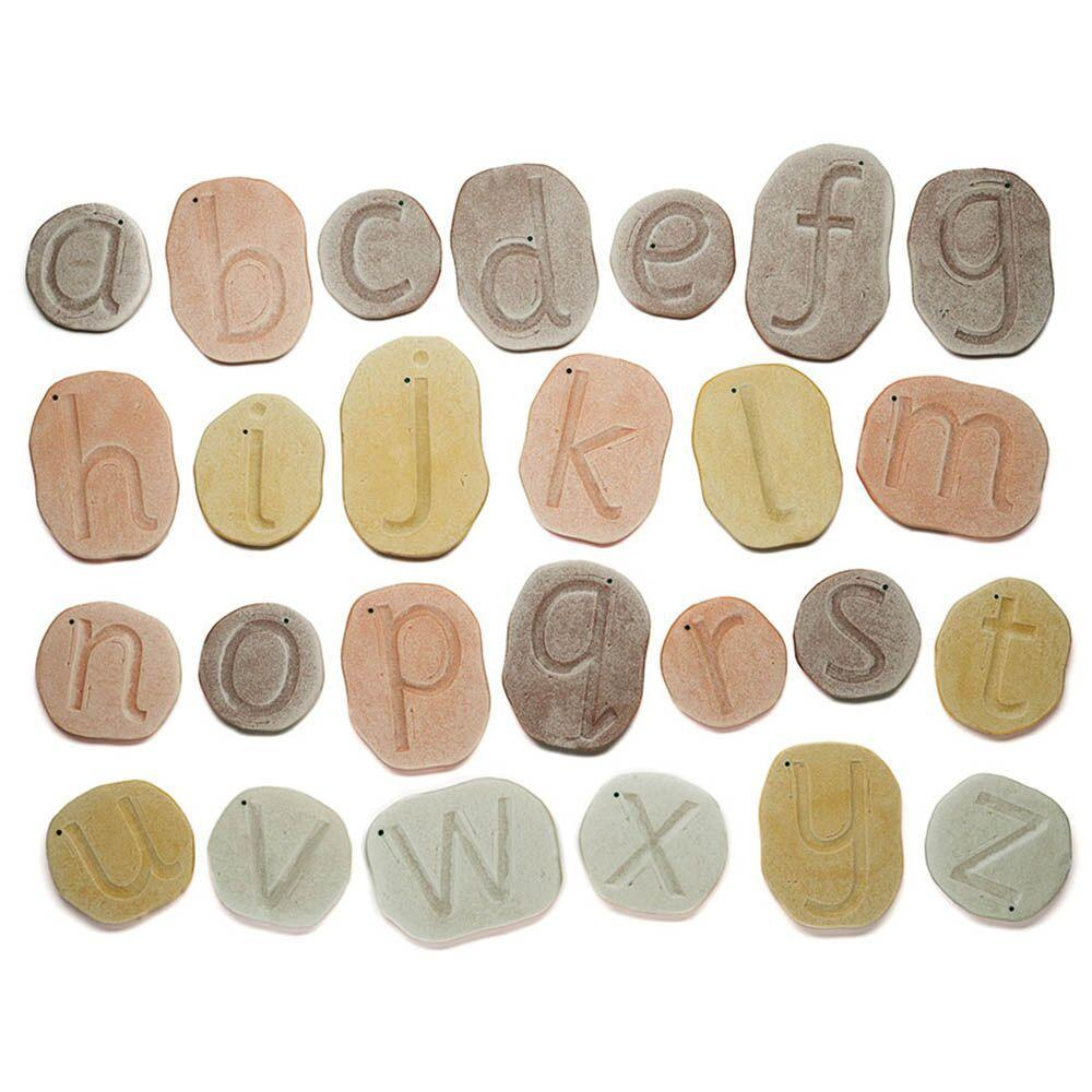 Feels Write Letter Stones Engraved Tracing Pebbles