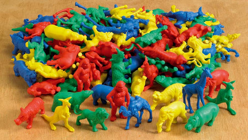 Wild Animal Counters 120Pcs