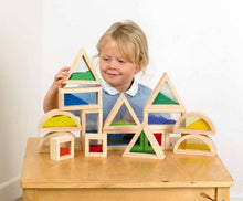 Wooden Sensory Blocks - EASE