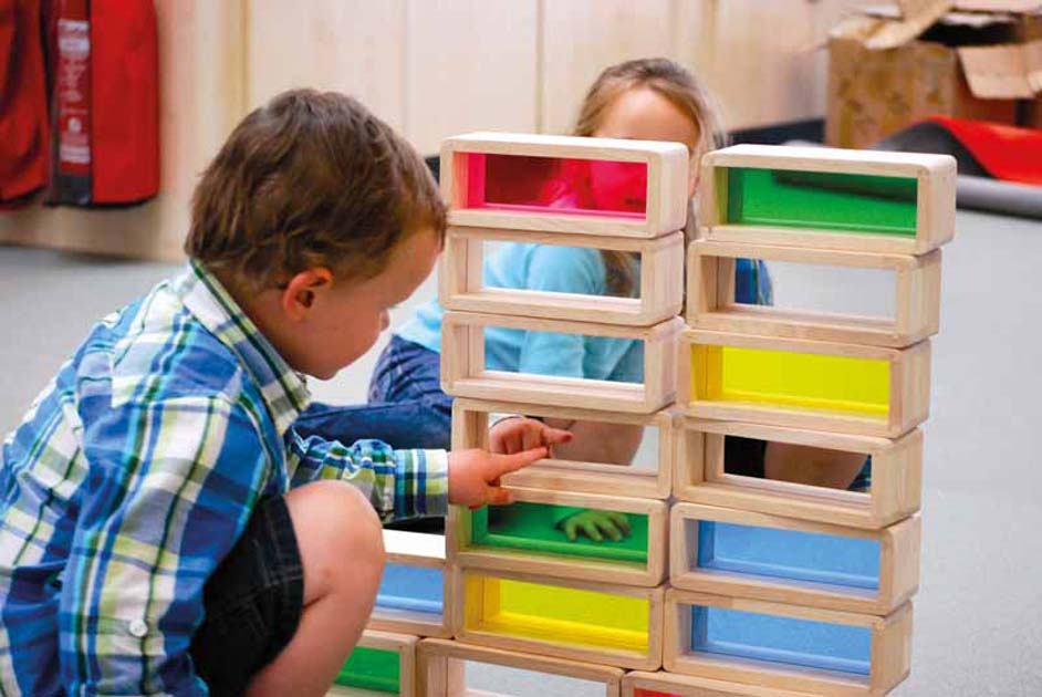 Special Sensory & Rainbow Blocks