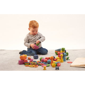 Rainbow Wooden Super Set - 84pk