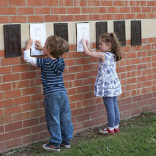 Outdoor Maths Number Rubbing Boards 1-10