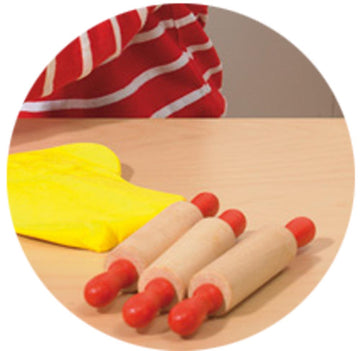 Plain Rolling Pin (set of 6)