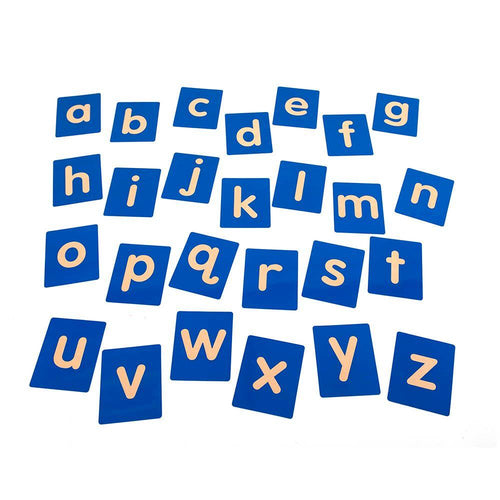 Tactile Alphabet Letters Lowercase 26pk