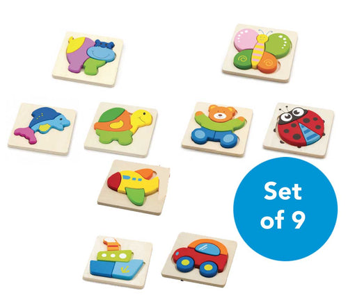 Set of 9 Puzzles Special