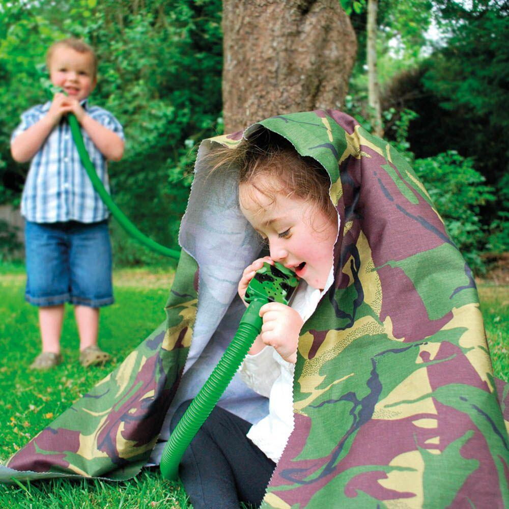 Outdoor Camouflage Telephone and Tube Set 2pk