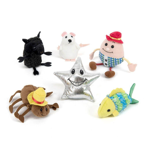 Nursery Rhyme Role Play Finger Puppet Set 6pcs