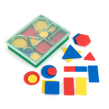 Shapes and Size Attribute Set 60pk Deluxe Blocks