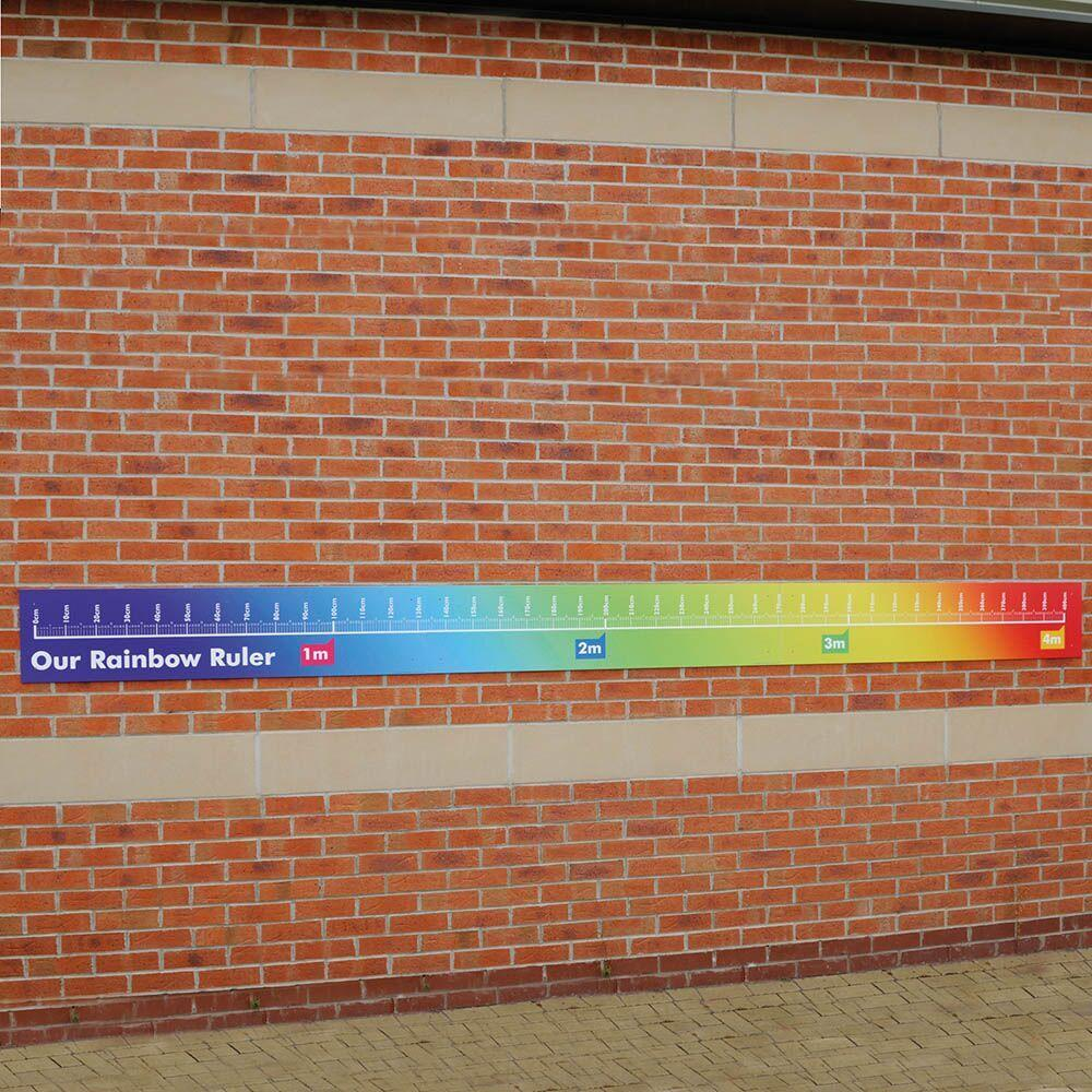 Giant Outdoor Rainbow Ruler L4m
