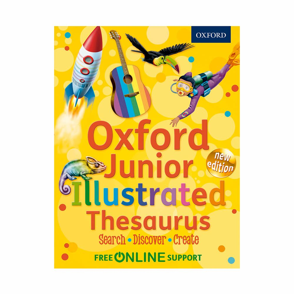 Oxford Junior Illustrated Thesaurus 6pk