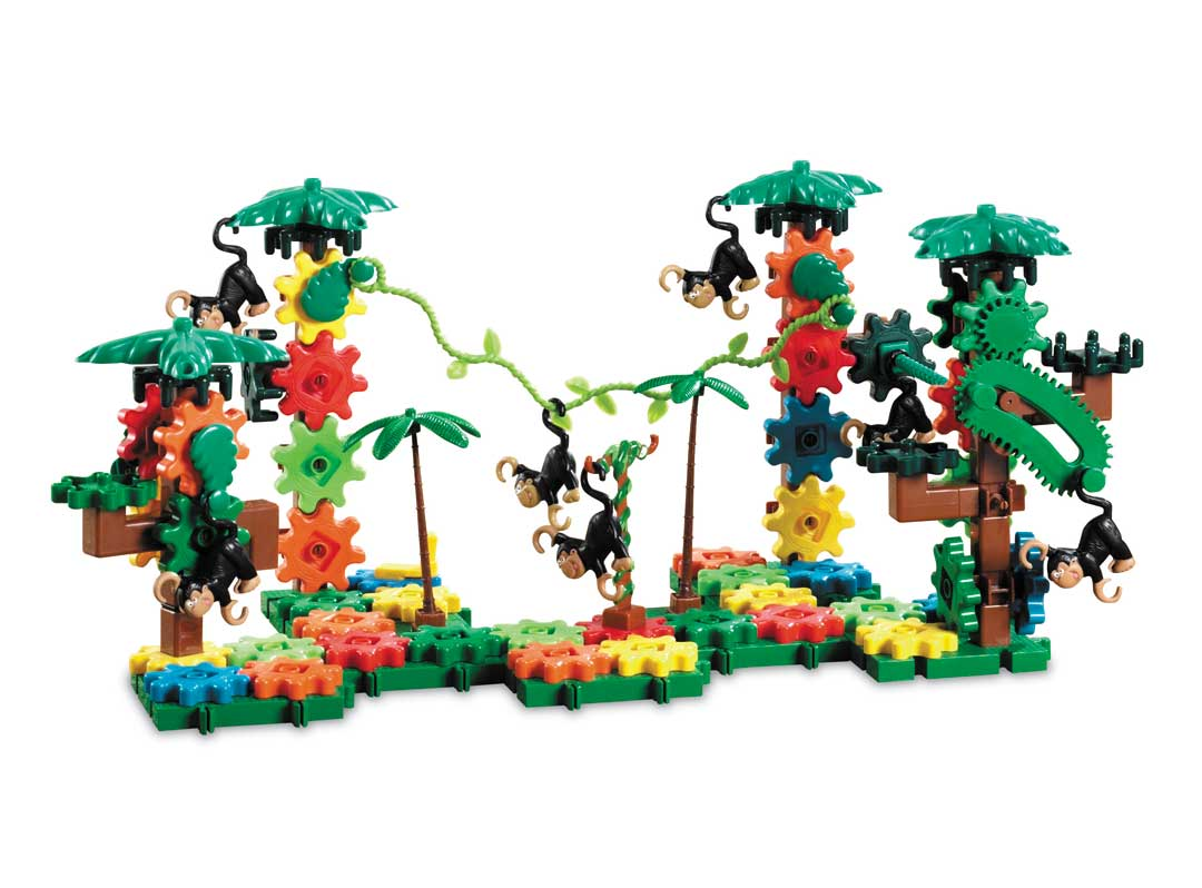 Moving Monkey Building Set 136 Pieces