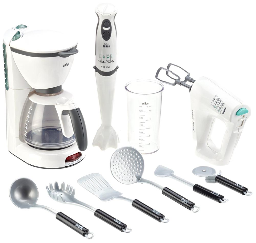 Braun Kitchen Set