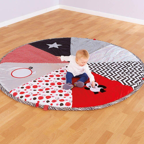 Black and White Pop Up Play Mat