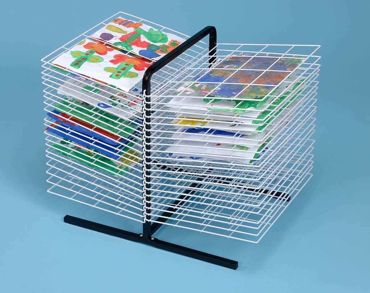 40 Shelf Table Top Drying Rack