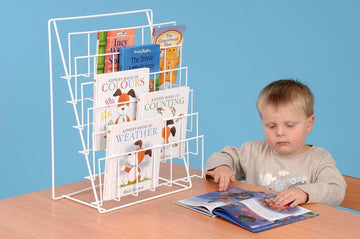 Desktop Book Rack