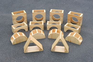 Hollow Blocks 40 piece set