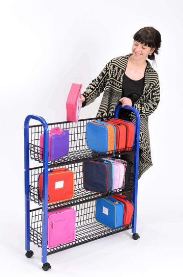 Single Sided Lunchbox Trolley