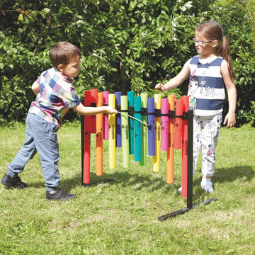 Double Sided Outdoor Boomwhacker Frame
