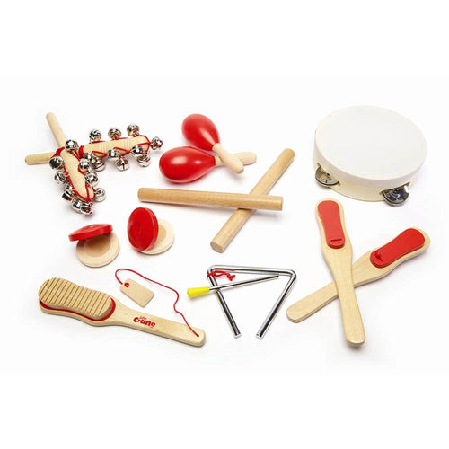 Musical Instruments Wooden Percussion Set 14pcs