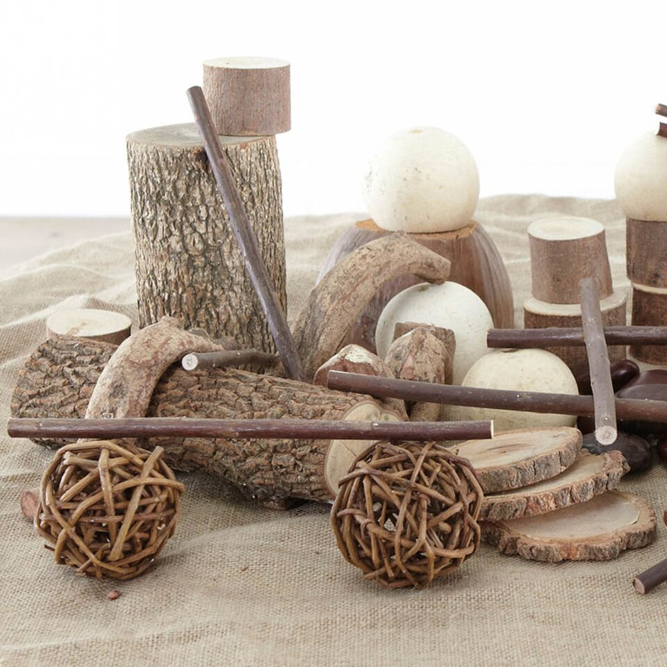 Natural Materials Wooden Collection