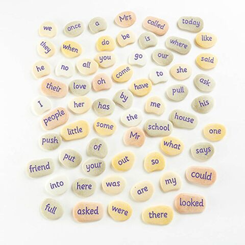 Tricky Word Pebbles Year 2 45 to 80mm