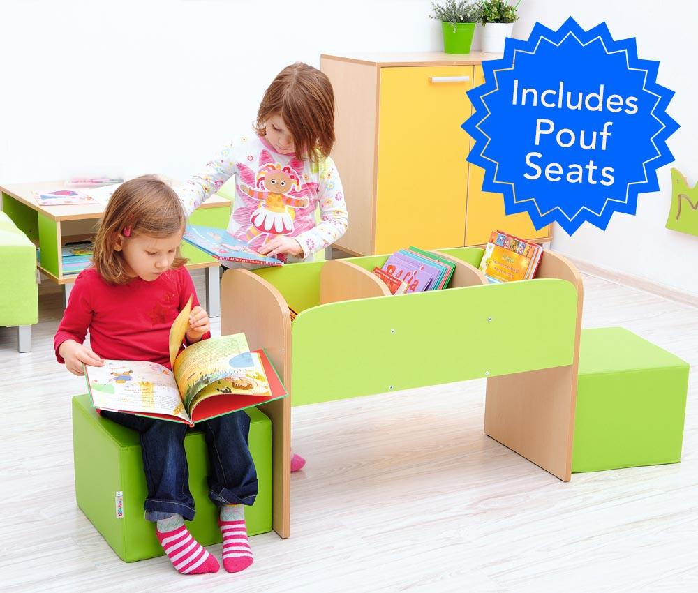 EASE Classroom with Plastic Chairs 34cm