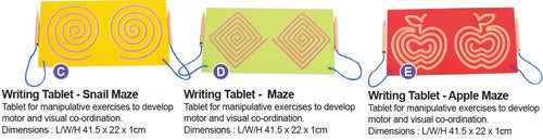 Set of 3 Tablets (use for 2 hands)