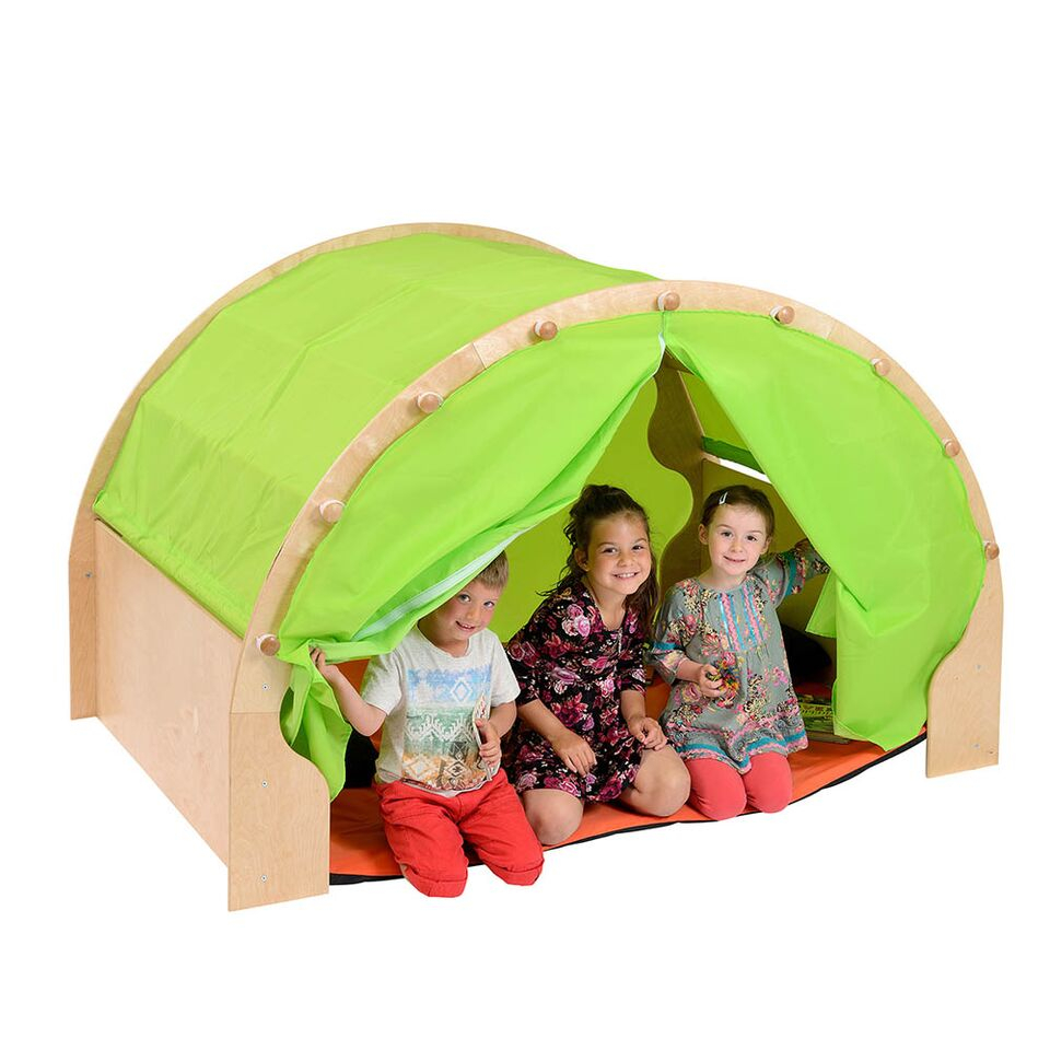 Play Pod Den Black No Curtains