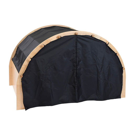 Play Pod Den Black One Set of Curtains