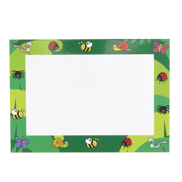 Themed Whiteboards Provocations A4 Dry Wipe 30pk